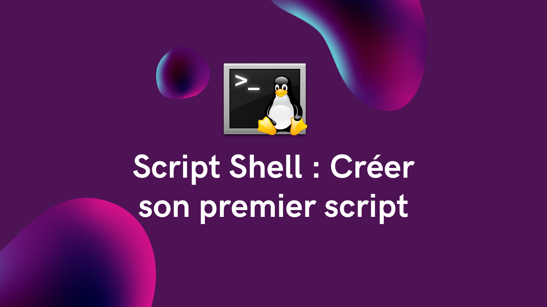 You are currently viewing Script Shell : Créer son premier script